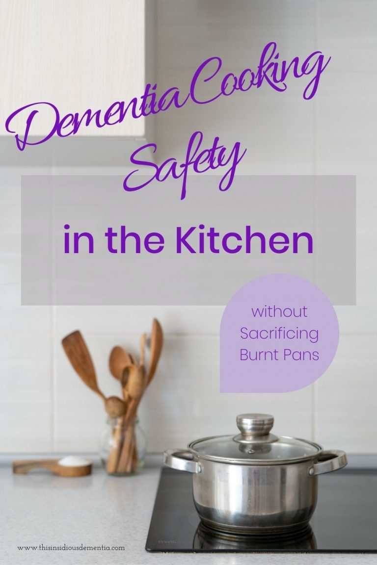 Pot on ceramic stove top, Dementia Cooking Safety in the Kitchen