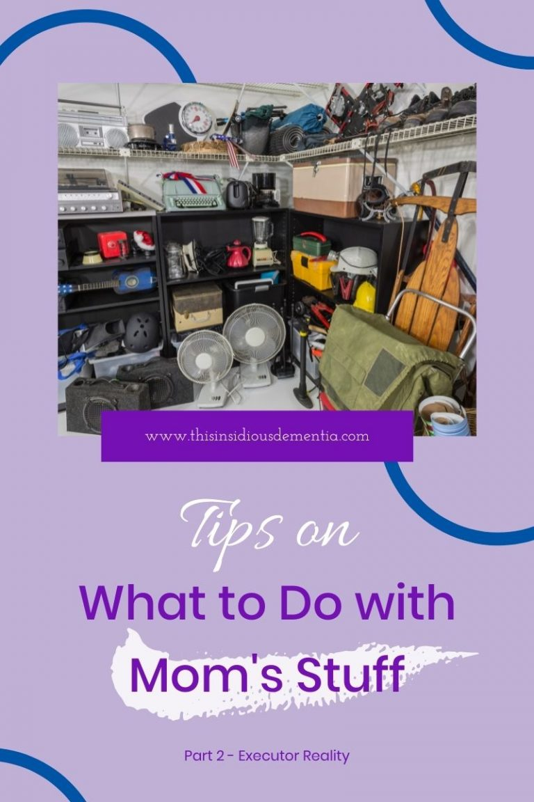 Photo of very cluttered garage with items on shelves and ground
